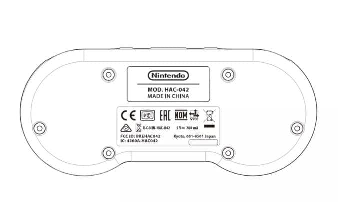 Nintendo Switch SNES style Controller