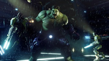 first look at marvels avengers on playstation 5 hulk smash