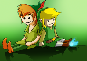 peter pan and link