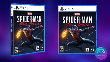sony ps5 game cases design revealed with spiderman miles morales